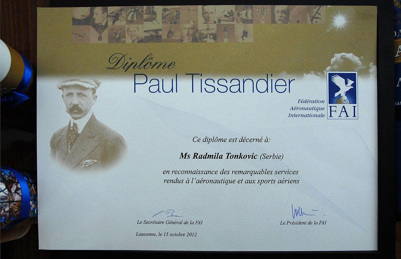 Название: Tonkovic R. Diploma PAUL TISSANDIER Radmila.jpg Просмотров: 1026  Размер: 231.0 Кб